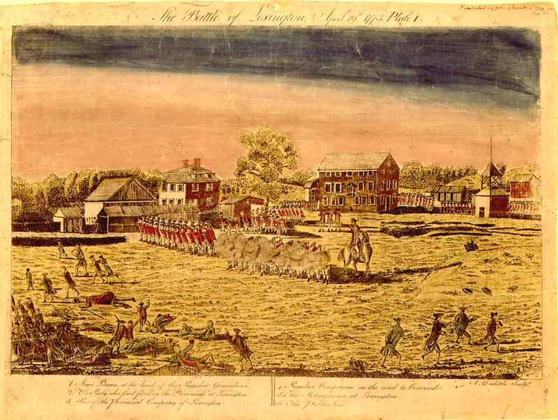 the trials and tribulations in taking part in the battle of lexington in april morning by howard fas We do not just want to look at the past, either, but are just as much interested in papers that focus on today's developments and their significance in the cultural discourse jazz always was a part of.