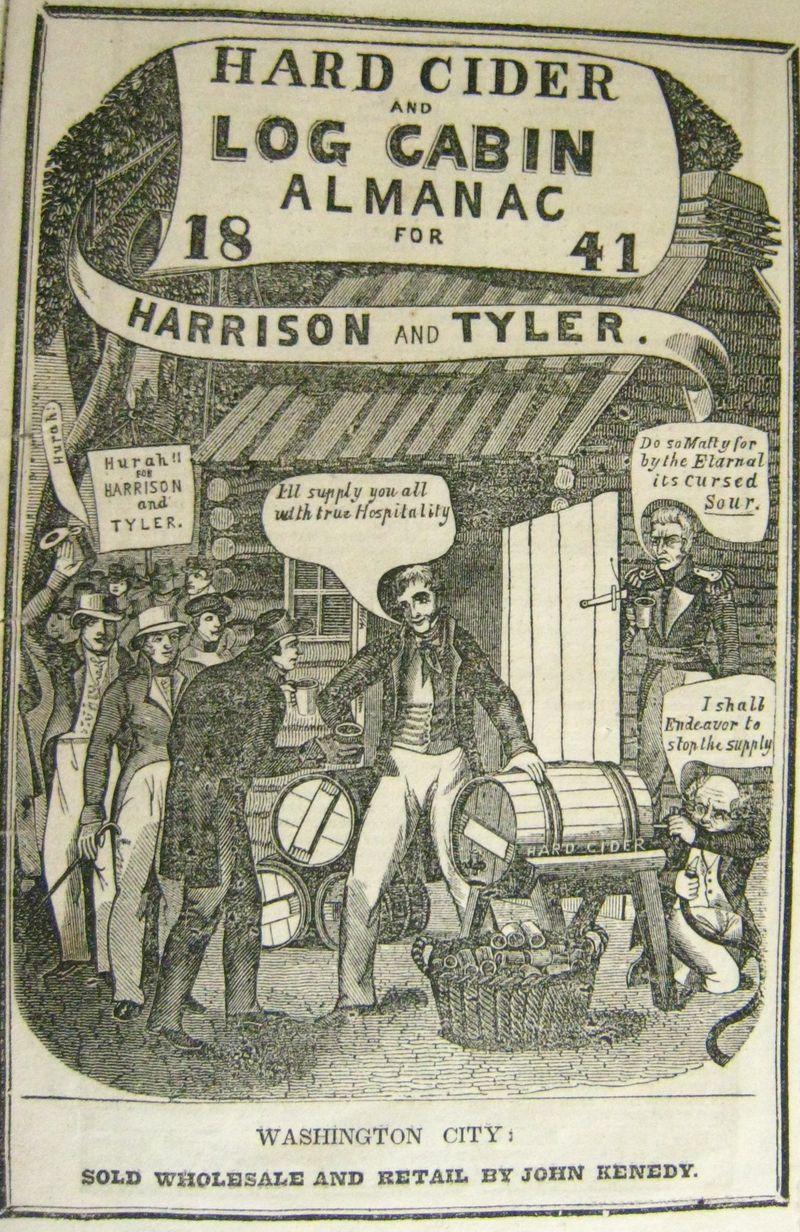 Hard Cider and Log Cabine Almanac 1841
