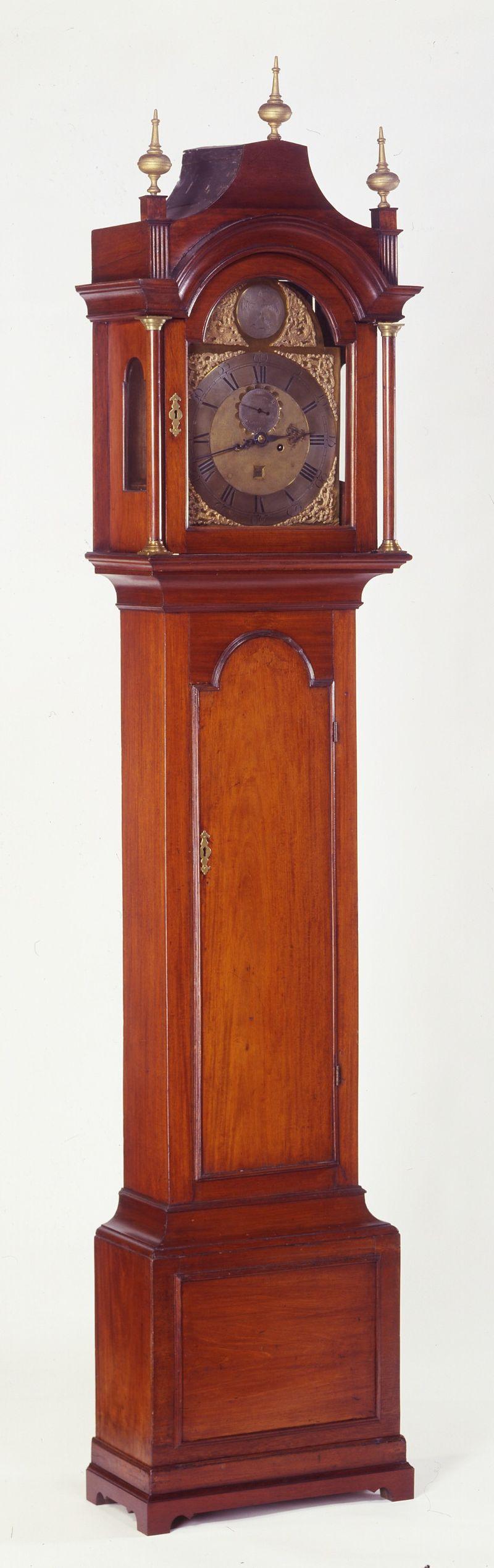 Willard Tall Case Clock cropped