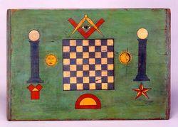Checkerboard for symposium