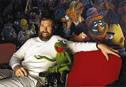 Henson and his characters smaller
