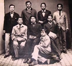 79_51_6 Indian Boys from the Dakota Territory 1880-1881