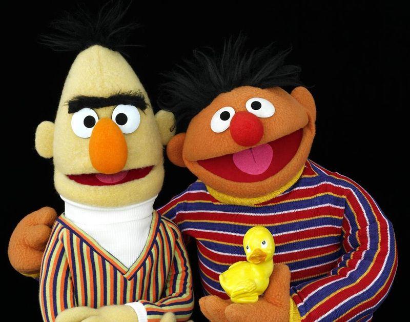 Bert & Ernie, crop