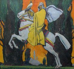 76_59_2DI1 Falls painting