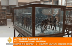 Vadalism at Cairo Museum