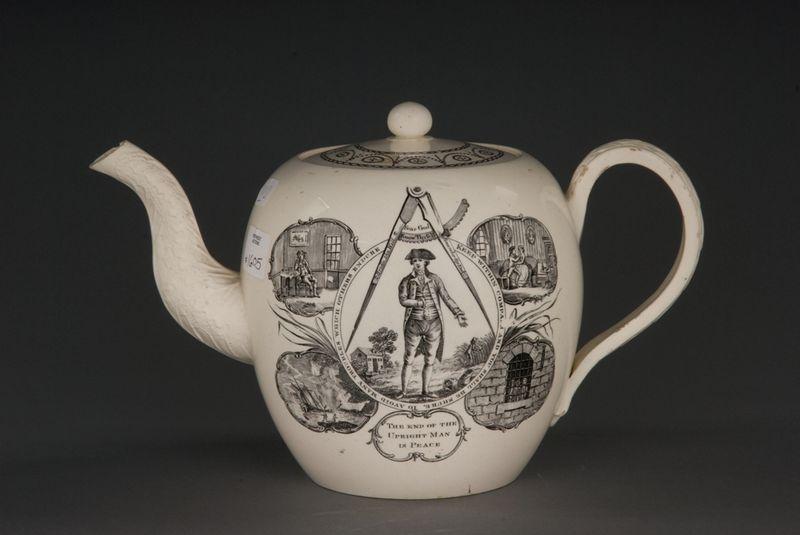 Teapot, man, smaller