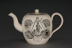 Teapot, man, smaller
