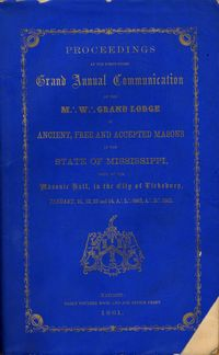GL Mississippi Proceedings 1861