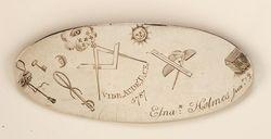 GL2004.4588 Elnathan Holmes belt plate
