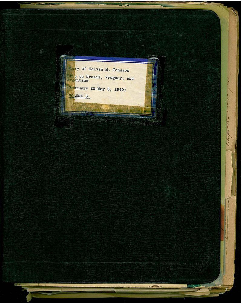 South American Diary original cover