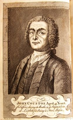John Coustos frontispiece from 1746 edition