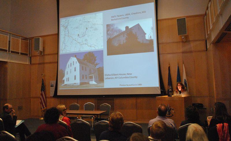 Presentation during symposium