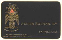 Bulman, Austin