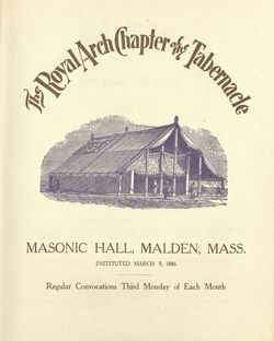 Tabernacle meeting notice front