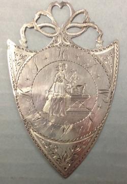 2015.014.5 William Ely mark medal mark side