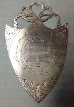 2015.014.5 William Ely mark medal name side