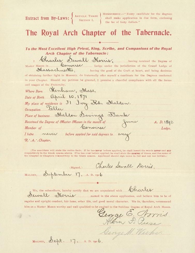 Norris petition