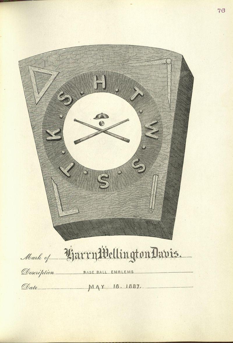 Harry Wellington Davis mark
