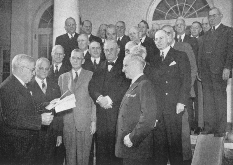 Presentation of Gourgas Medal to Illustrious Harry S. Truman, 33°
