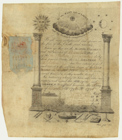 Certificate Daniel Rathbone