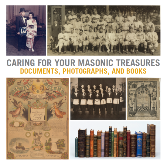 Caring for Your Masonic Treasures cover