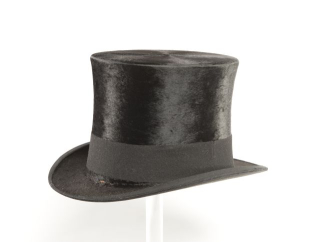 Worshipful Master's Top Hat, ca. 1900