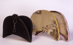Hat with Box, 1830-1840