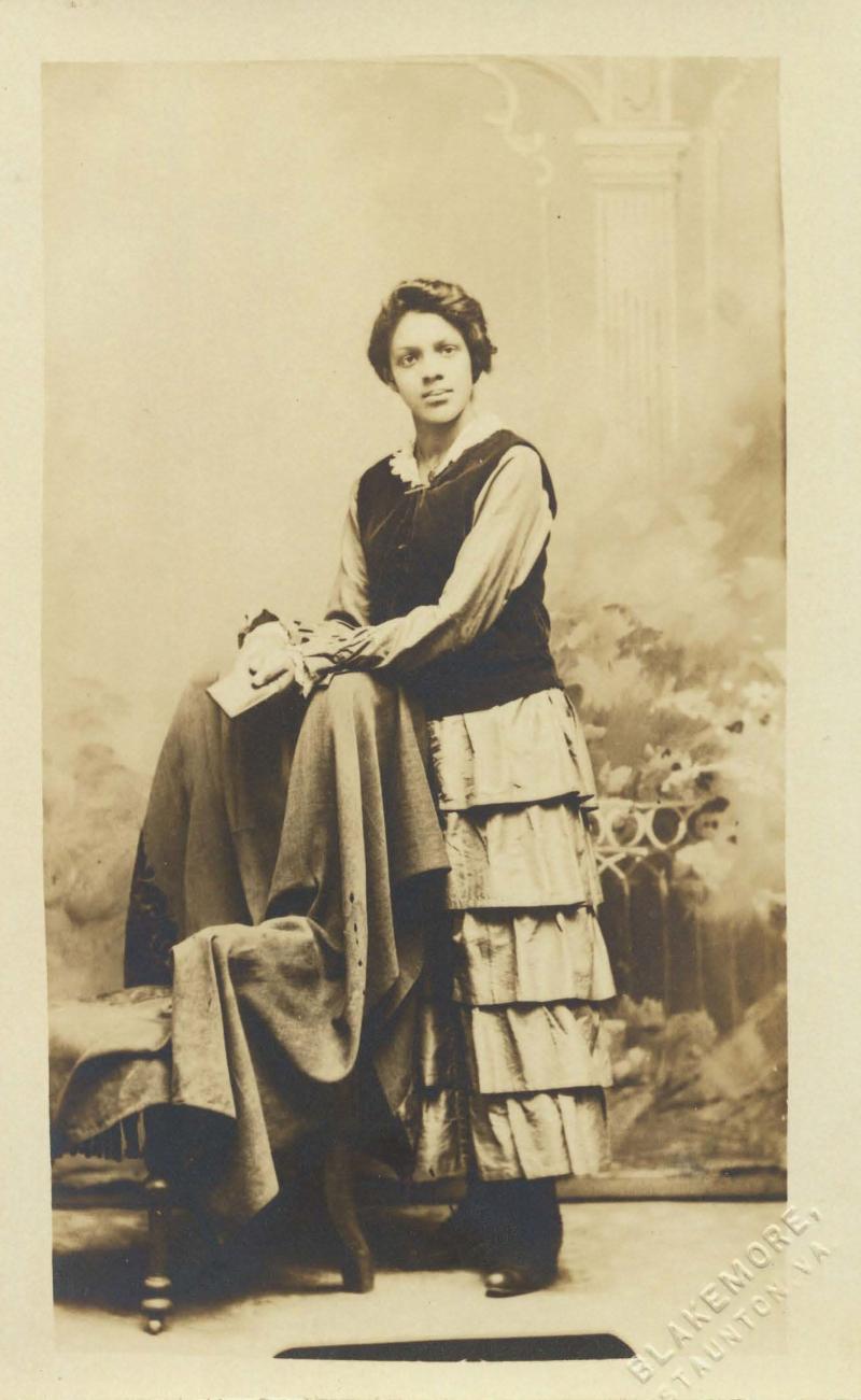 Pollie Thomas postcard
