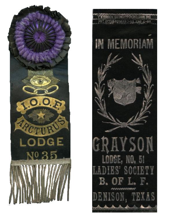 Fraternal ribbons