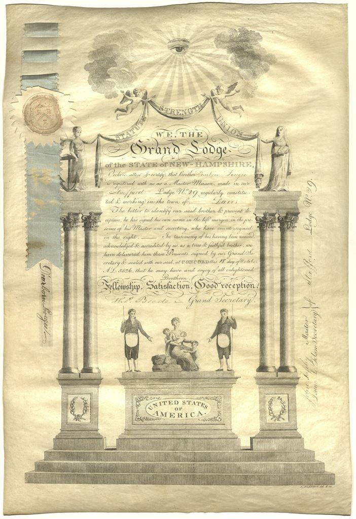 Masonic Certificates · digitalVGW